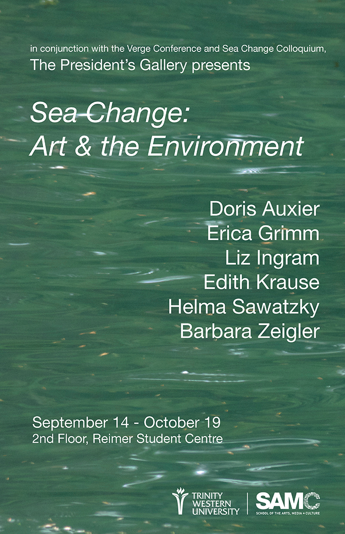 Sea Change Exhibition Poster
